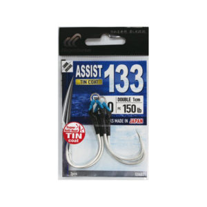 Anzuelo Assist 133 Tin Double 1 cm