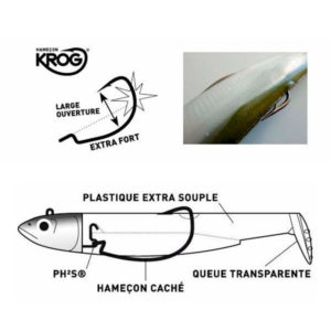 Anzuelos Krog By Black Minnow