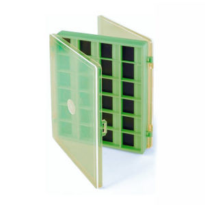 Caja magnética para anzuelos