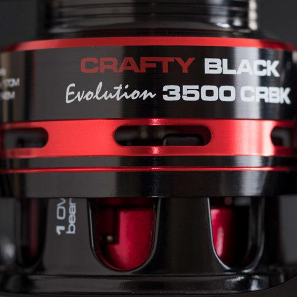 Carrete Crafty Black Evolution CRBK