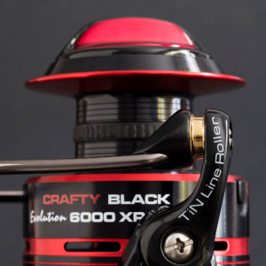 Carrete Crafty Black Evolution CRBK F 6000XP