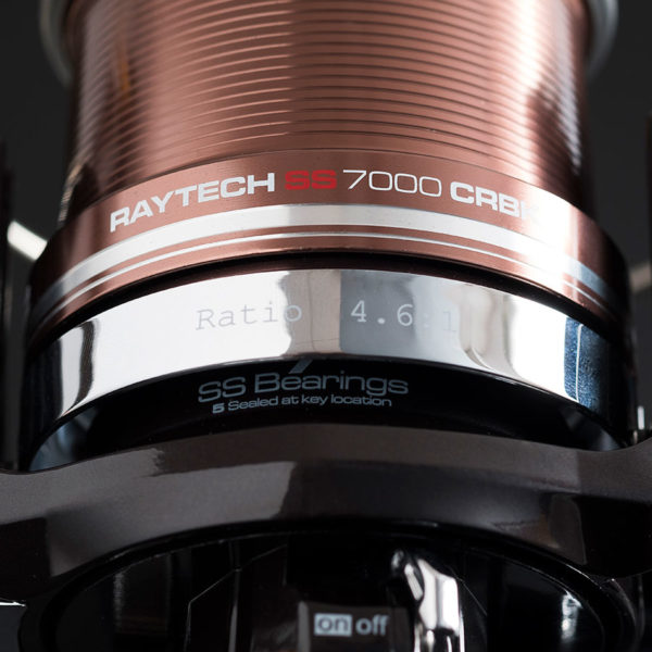 Carrete Raytech SS 7000 CRBK