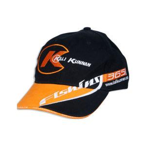 Gorra Negro-Naranja