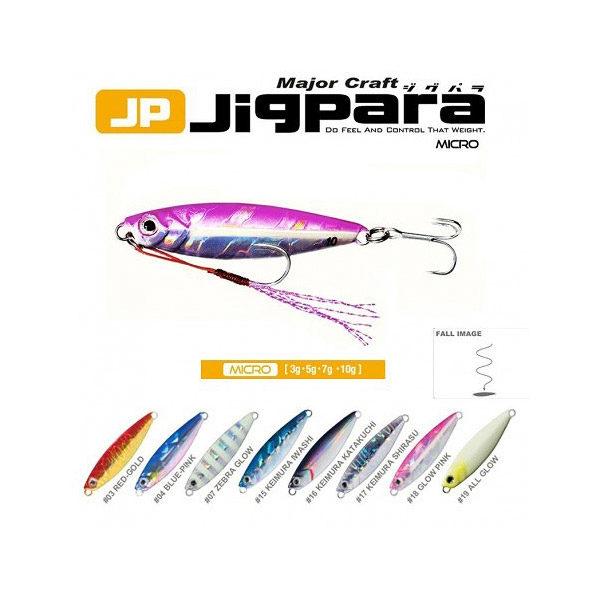 Señuelo Jigpara Micro 15