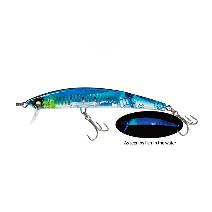 Señuelo Crystal 3D Minnow Jointed