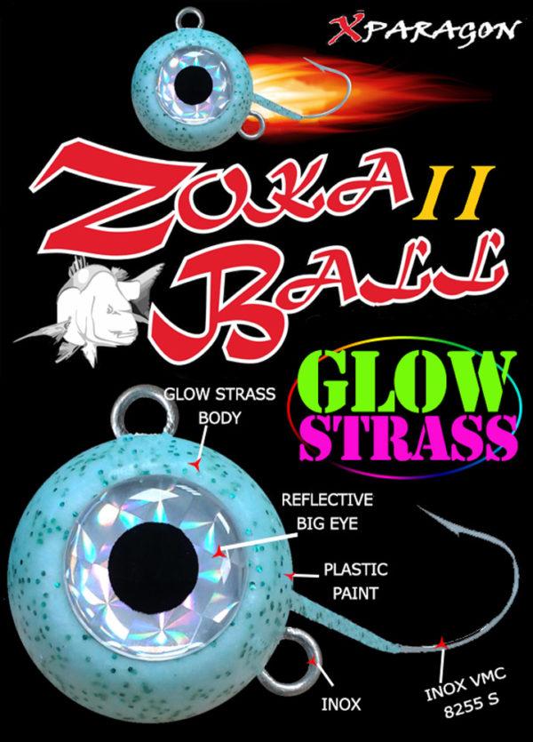 Zoka Ball II Glow Strass 230